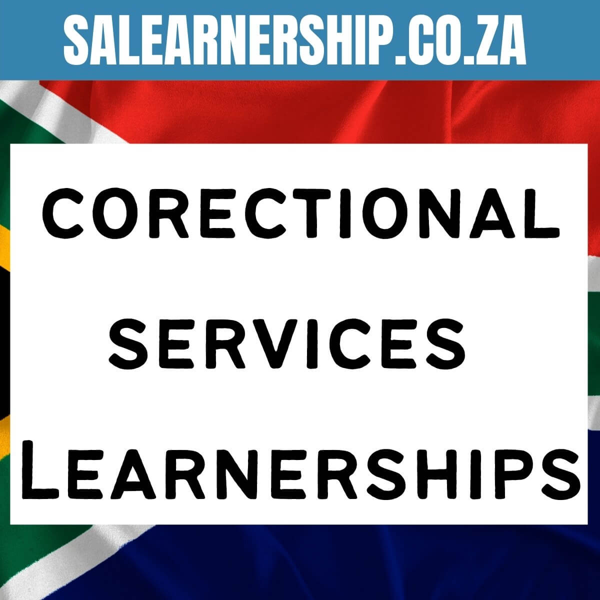 correctional services learnerships