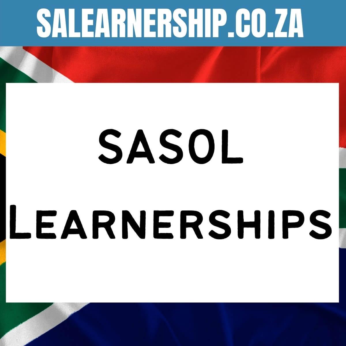 sasol learnerships