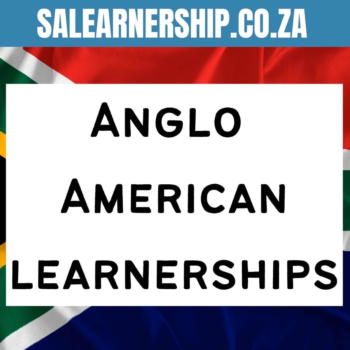 Anglo American learnerships