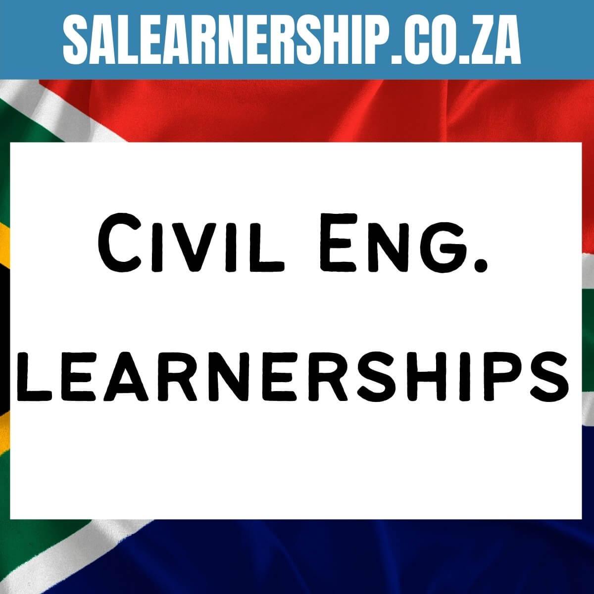 civil engineering learnerships
