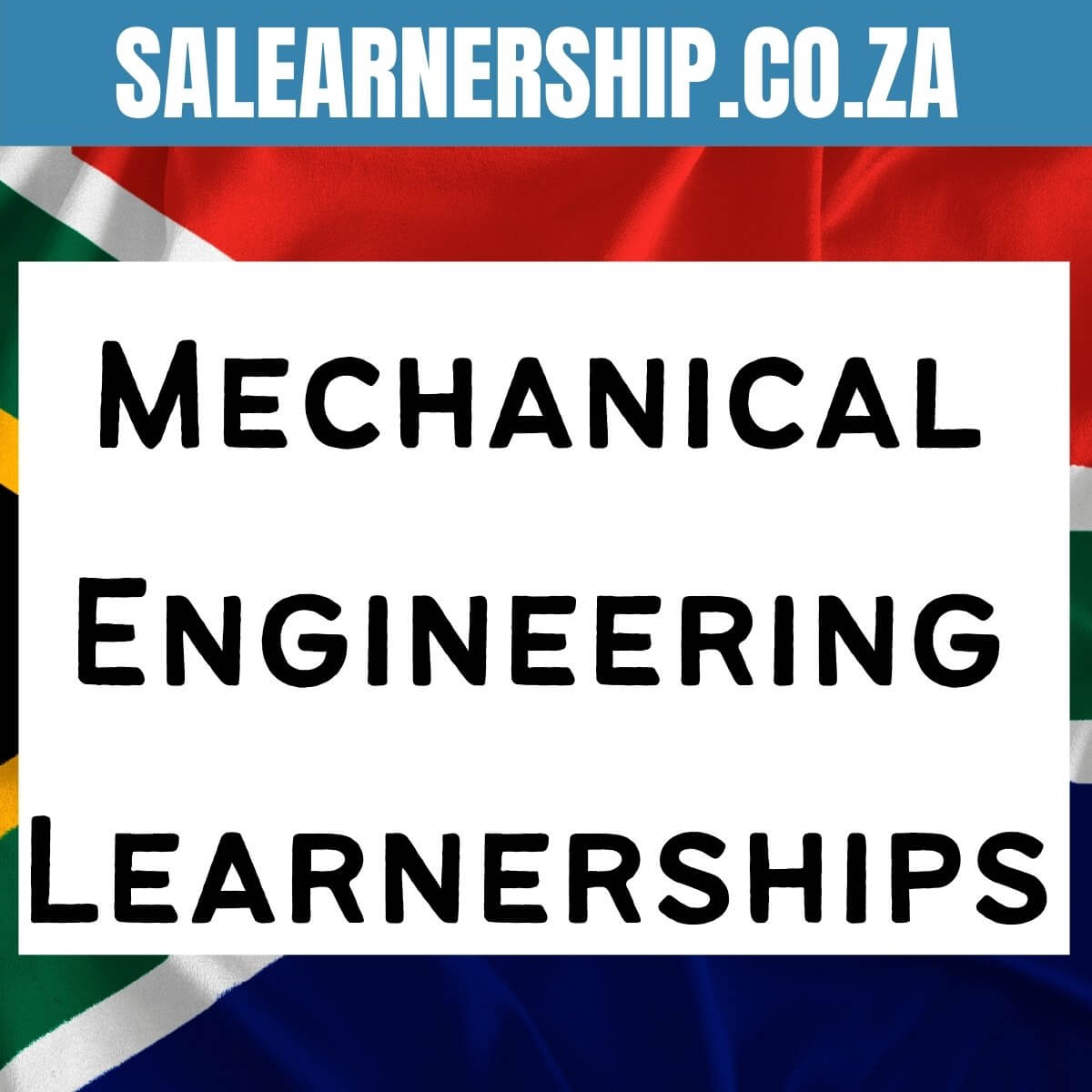 mechanical engineering learnerships