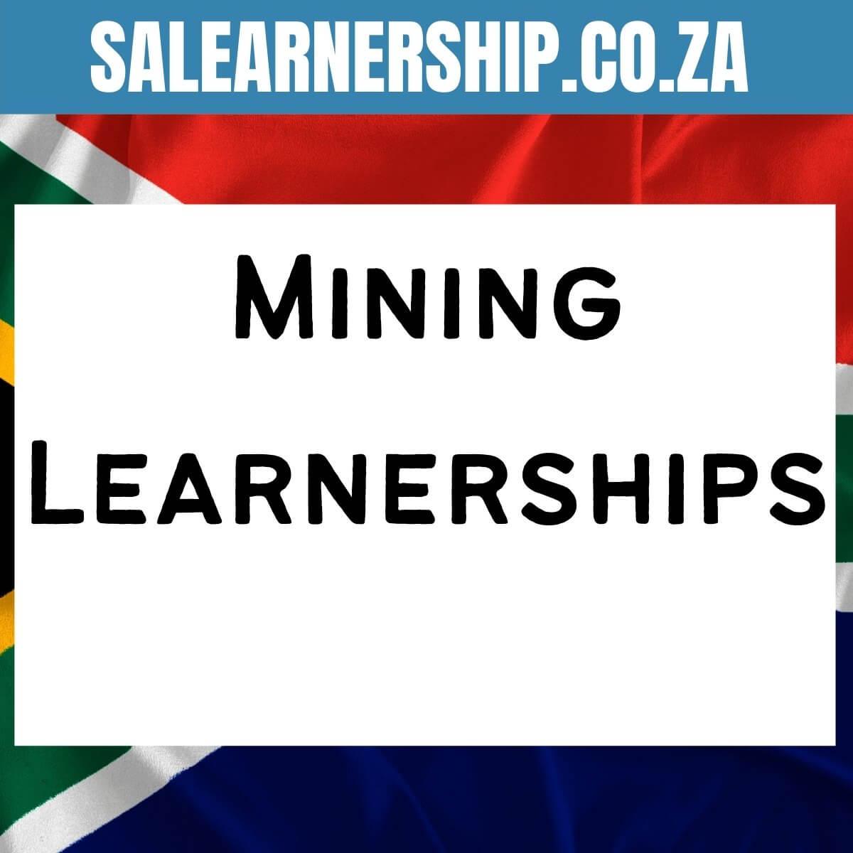 mining learnerships