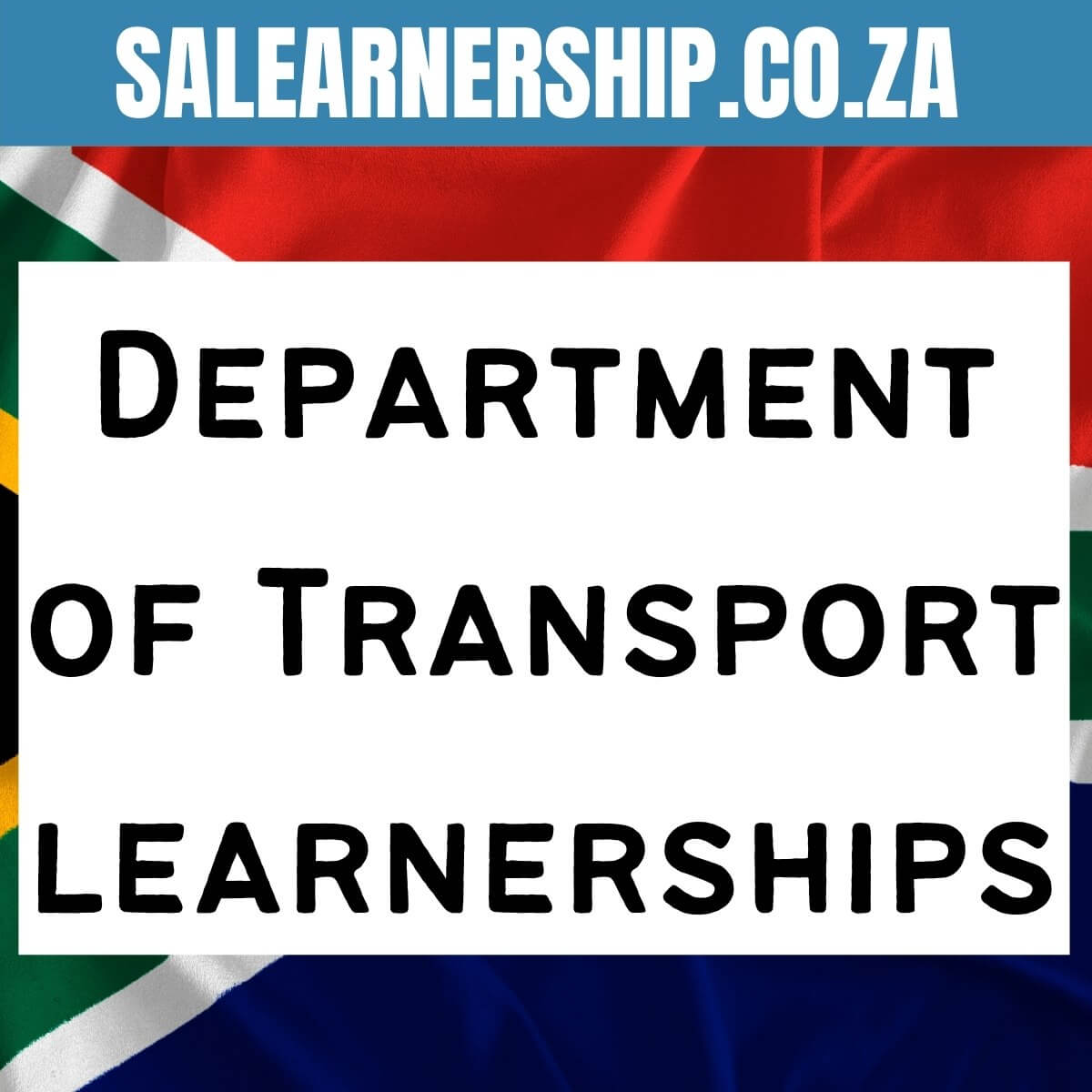 Department of Transport learnerships
