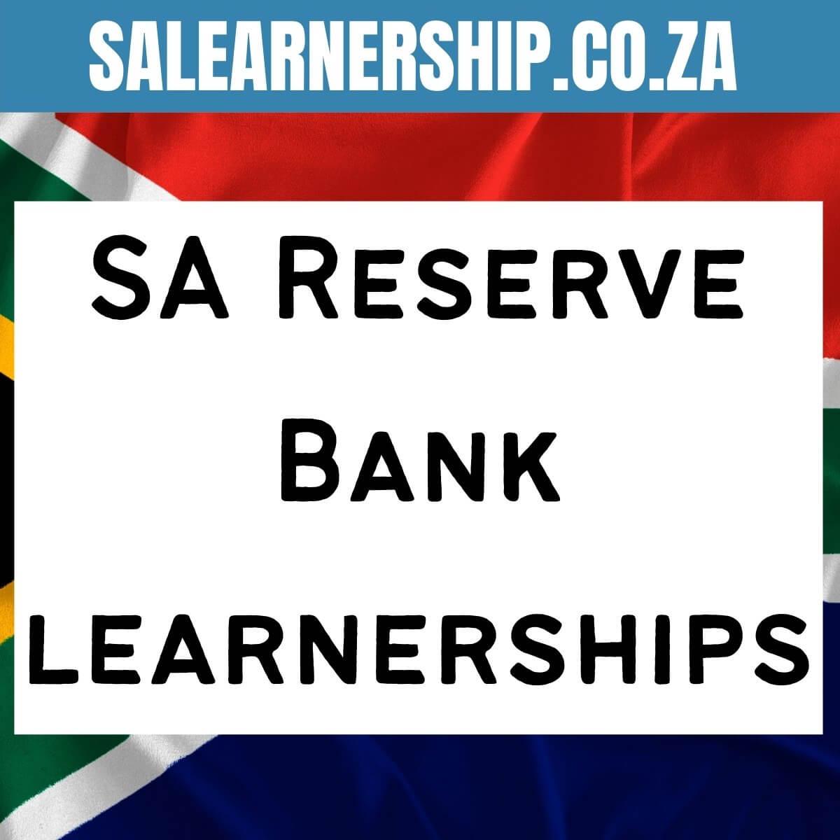 SA Reserve Bank learnerships