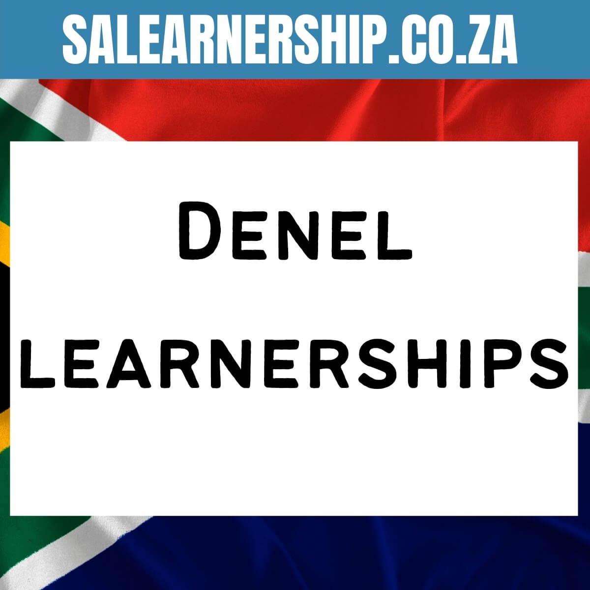 Denel learnerships