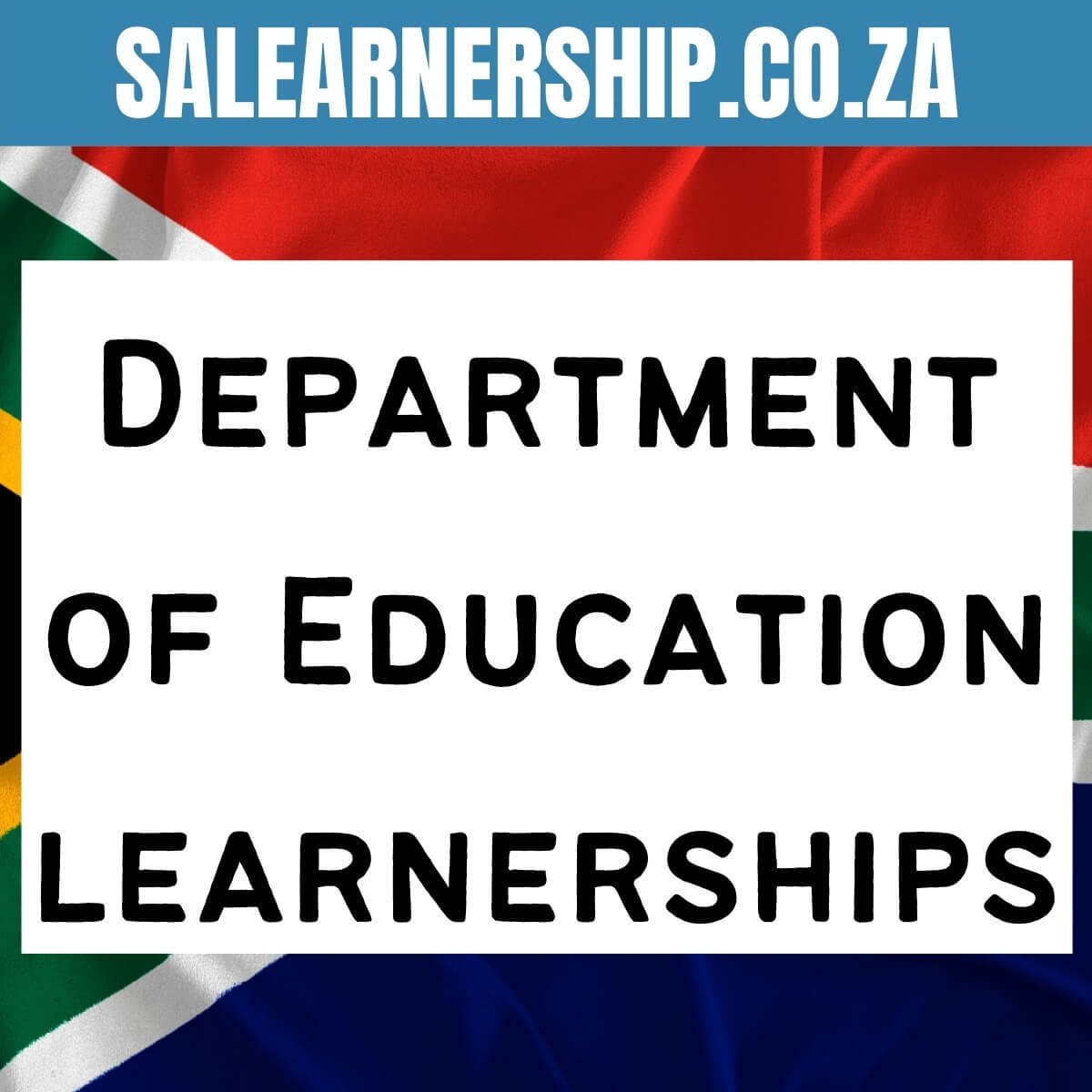 Department of Education learnerships