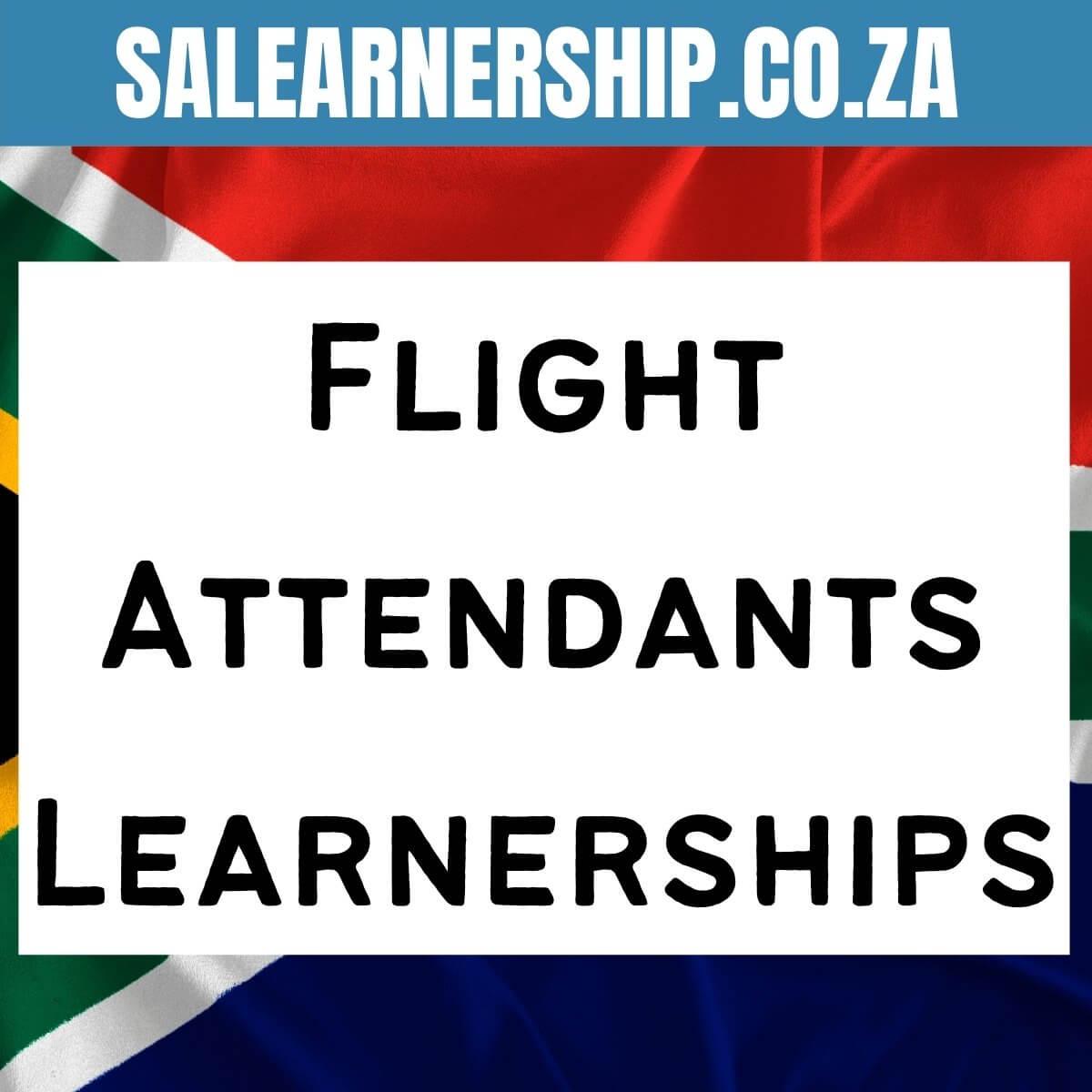 Flight Attendants Learnerships