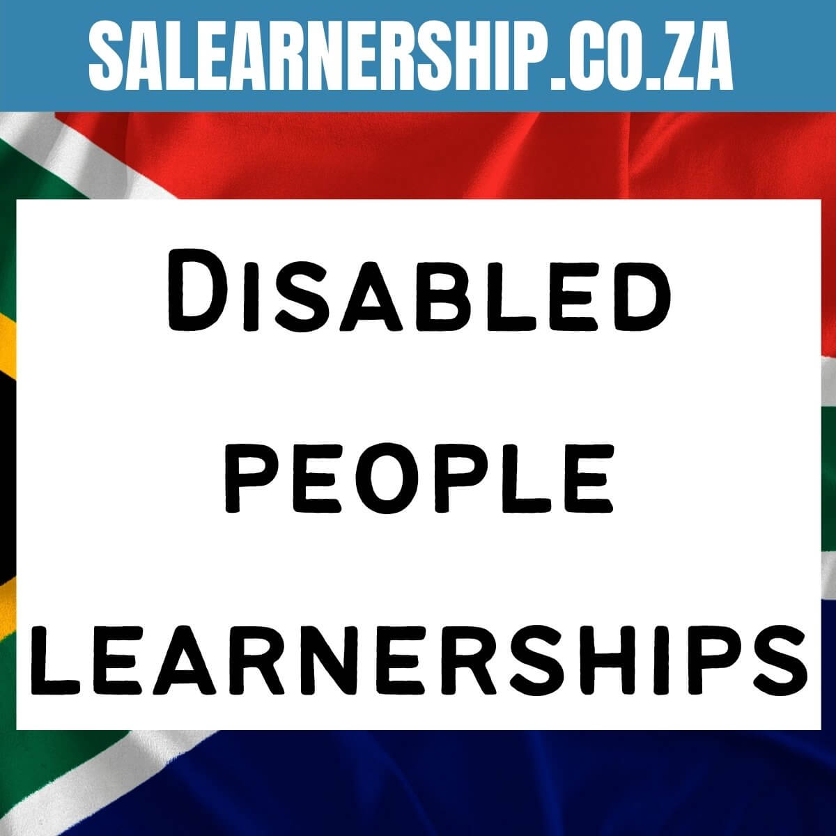 Learnerships for Disabled People