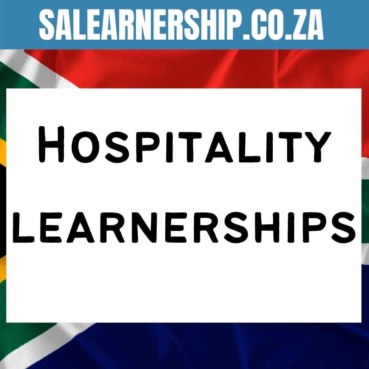 Hospitality learnerships