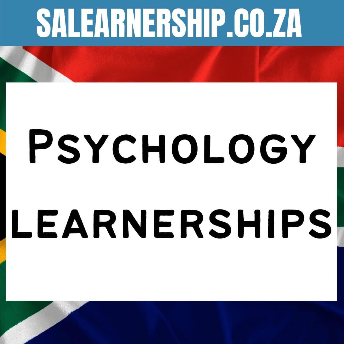 Psychology learnerships