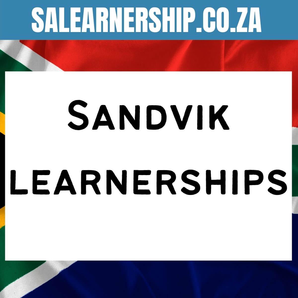 Sandvik learnerships