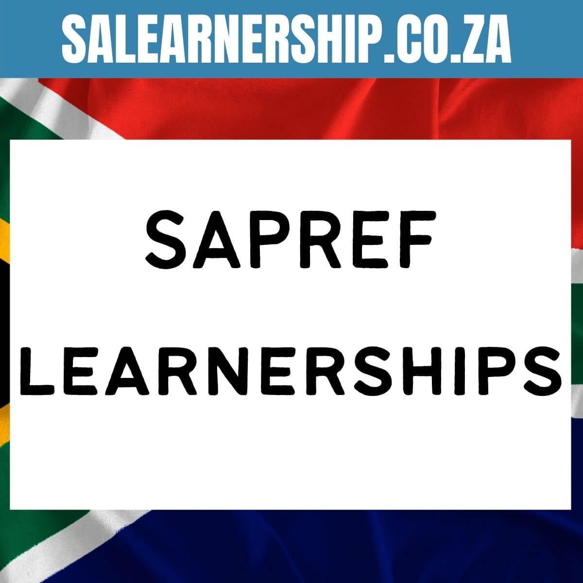 SAPREF learnerships