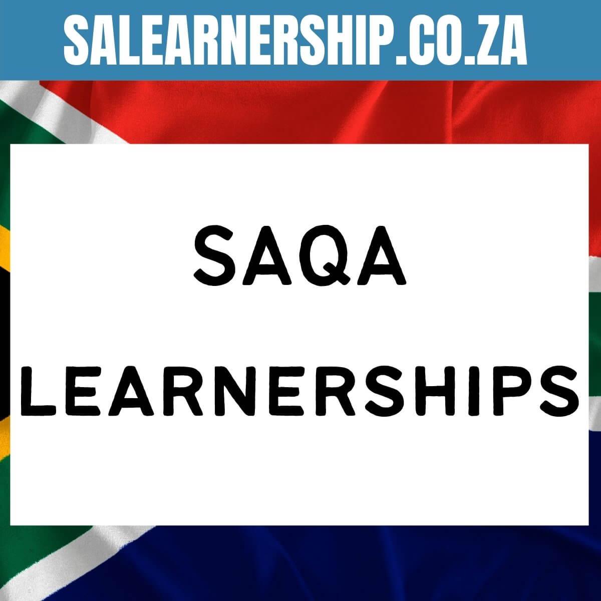 SAQA learnerships