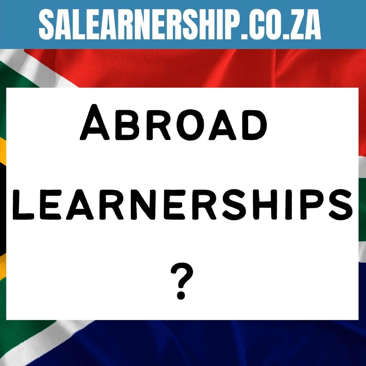 abroad learnerships