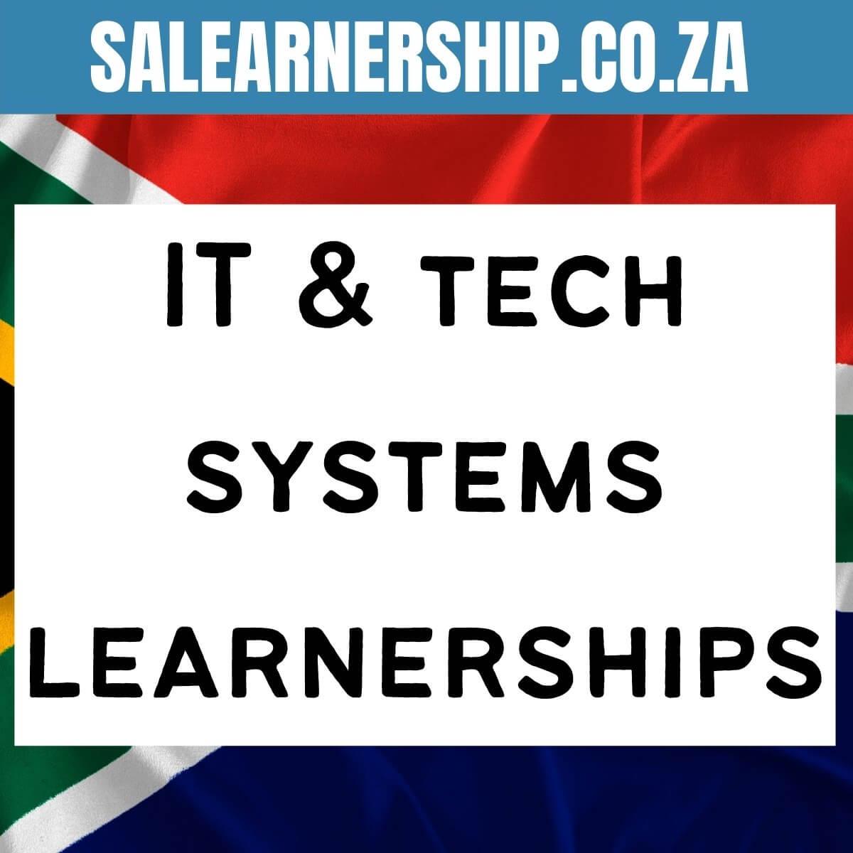 it& tech systems learnerships
