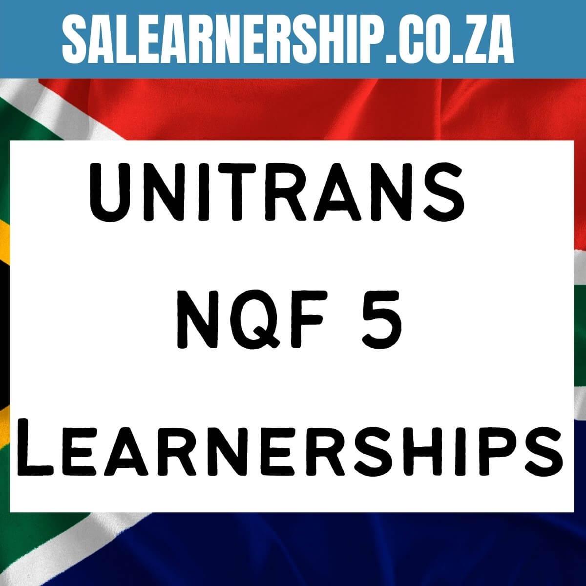 unitrans NQF5 learnerships